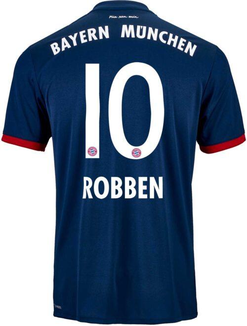 2017/18 adidas Kids Arjen Robben Bayern Munich Away Jersey