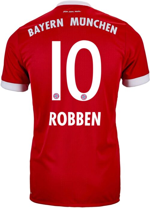 adidas Arjen Robben Bayern Munich Authentic Home Jersey 2017-18