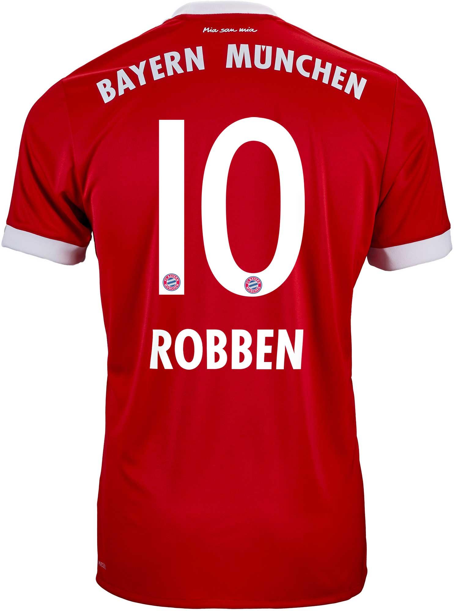 8c4a50931 2017/18 adidas Arjen Robben Bayern Munich Home Jersey