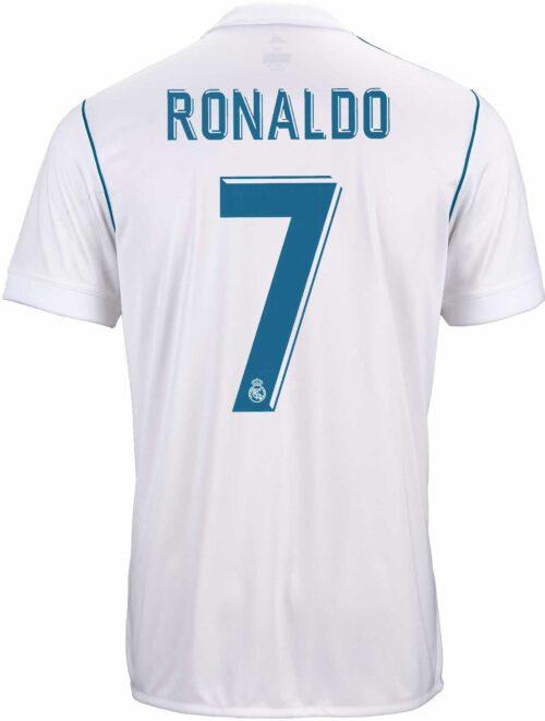 2017/18 adidas Cristiano Ronaldo Real Madrid Home Jersey