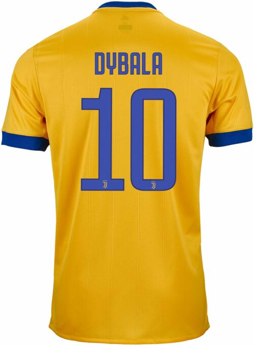 2017/18 adidas Kids Paulo Dybala Juventus Away Jersey