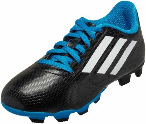 adidas Kids Conquisto FG – Black/Blue