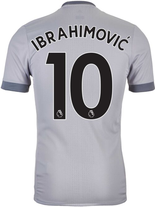 2017/18 adidas Zlatan Ibrahimovic Manchester United Authentic 3rd Jersey