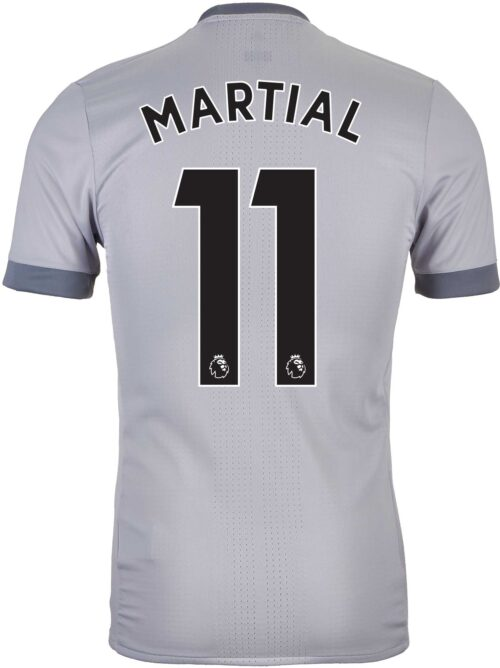 2017/18 adidas Anthony Martial Manchester United Authentic 3rd Jersey