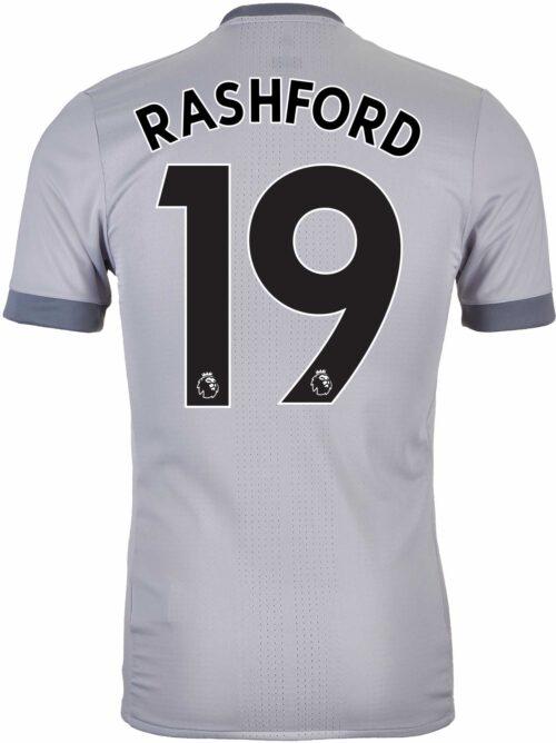 2017/18 adidas Marcus Rashford Manchester United Authentic 3rd Jersey