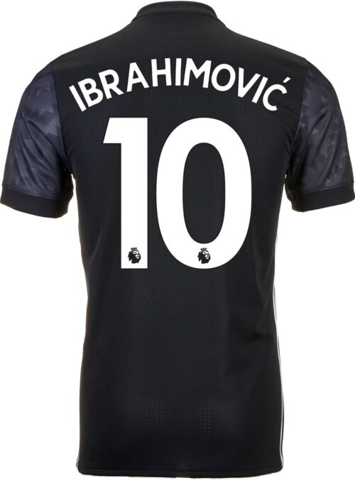2017/18 adidas Zlatan Ibrahimovic Manchester United Authentic Away Jersey