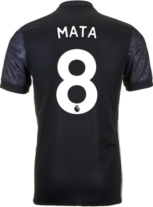 adidas Juan Mata Manchester United Authentic Away Jersey 2017-18