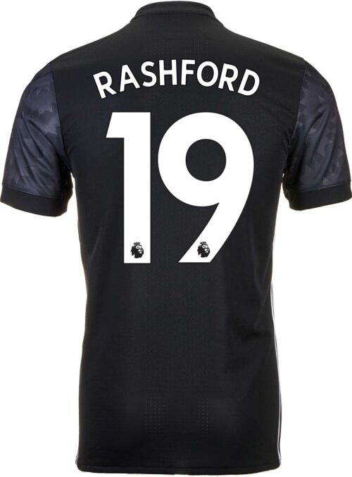2017/18 adidas Marcus Rashford Manchester United Authentic Away Jersey