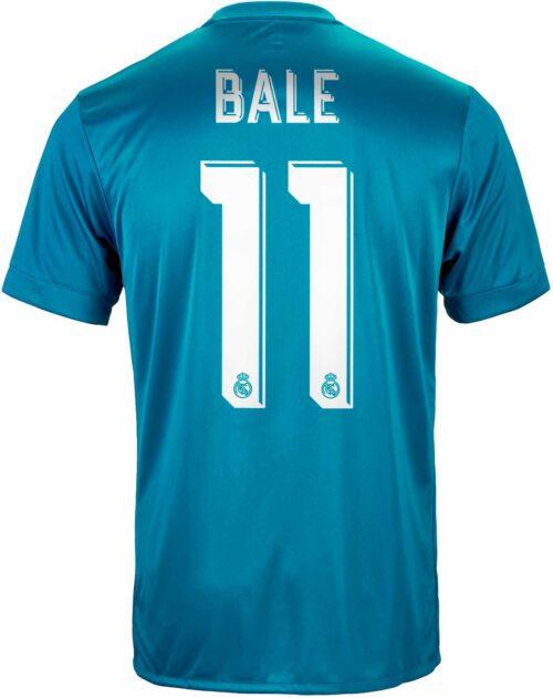 2017/18 adidas Kids Gareth Bale Real Madrid 3rd Jersey