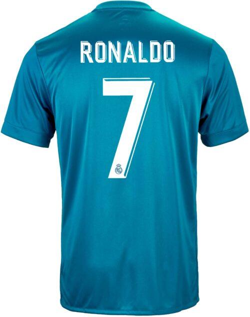 2017/18 adidas Kids Cristiano Ronaldo Real Madrid 3rd Jersey