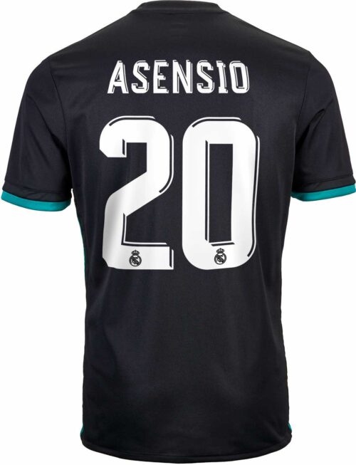 2017/18 adidas Kids Marco Asensio Real Madrid Away Jersey