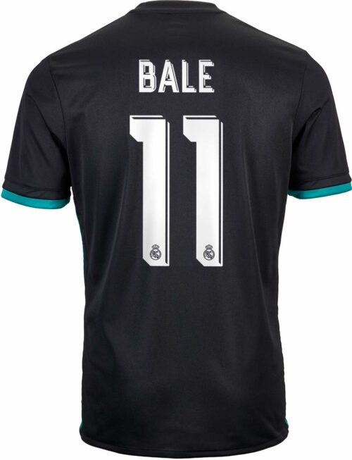 adidas Kids Gareth Bale Real Madrid Away Jersey 2017-18