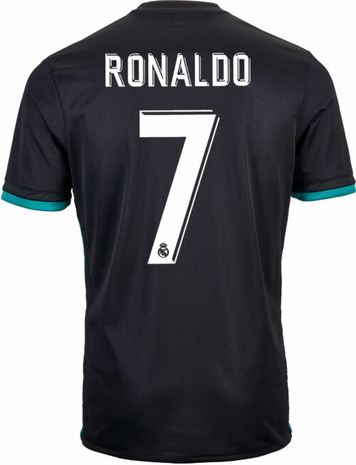 adidas Kids Cristiano Ronaldo Real Madrid Away Jersey 2017-18
