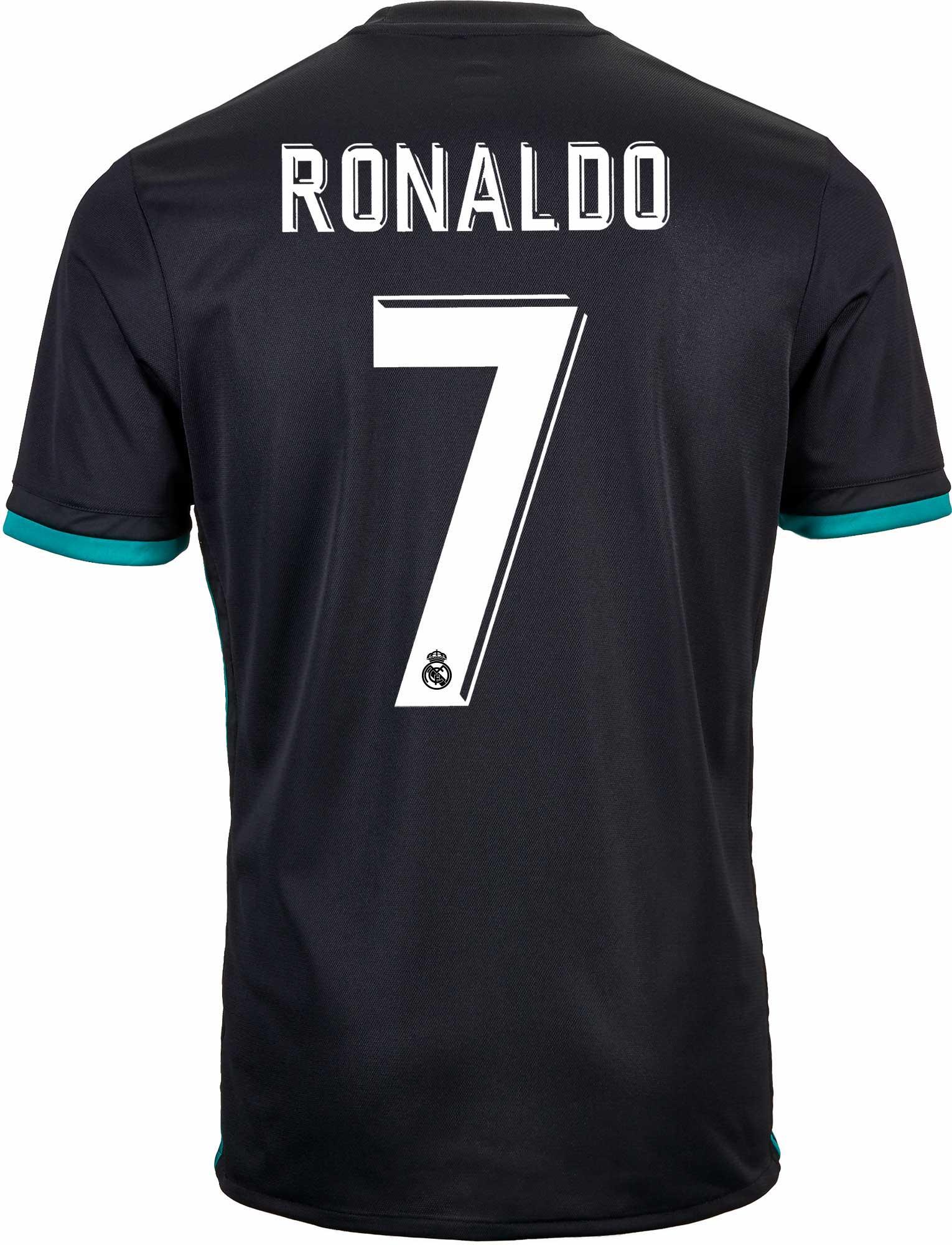 new styles 93888 a0307 2017/18 adidas Kids Cristiano Ronaldo Real Madrid Away ...