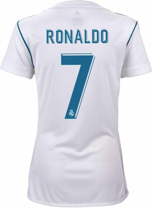 2017/18 adidas Womens Cristiano Ronaldo Real Madrid Home Jersey