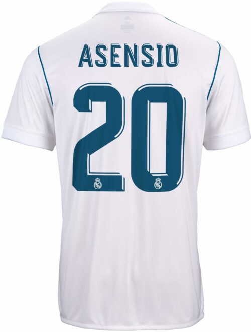 2017/18 adidas Kids Marco Asensio Real Madrid Home Jersey