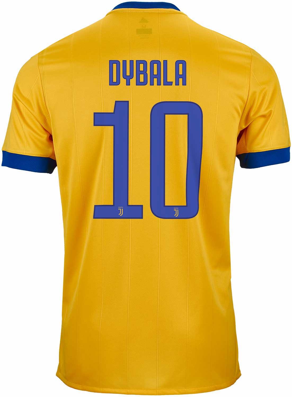 promo code 909a9 d29df 2017/18 adidas Paulo Dybala Juventus Away Jersey - SoccerPro