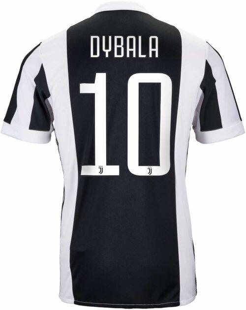 adidas Paulo Dybala Juventus Home Jersey 2017-18
