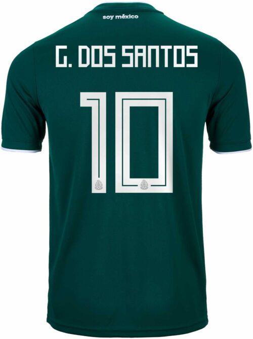 6fdaeda52 Giovani Dos Santos Jersey - Mexico   LA Galaxy - SoccerPro.com