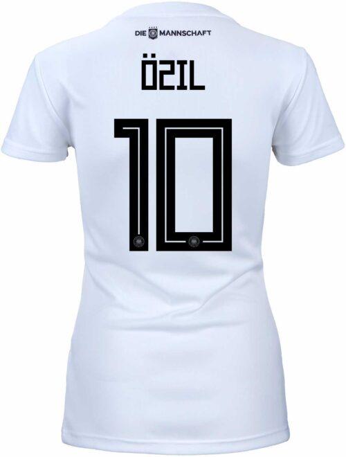 adidas Womens Mesut Ozil Germany Home Jersey 2018-19