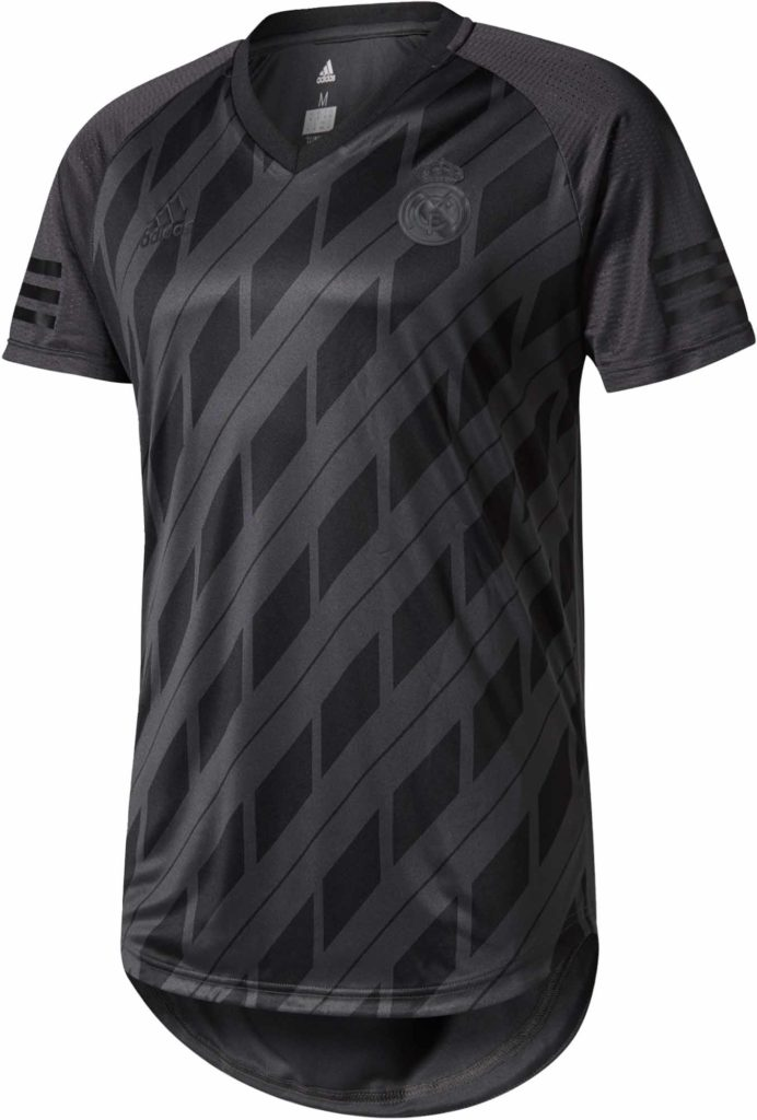 adidas Real Madrid SSP Tee – Winter Pack – Solid Grey/Black