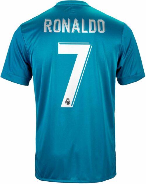 adidas Cristiano Ronaldo Real Madrid 3rd Jersey 2017-18