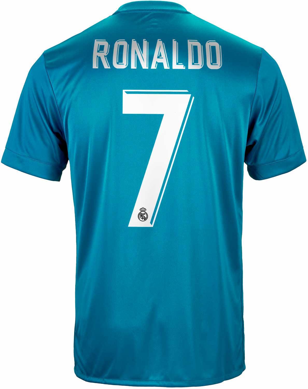 superior quality 68259 df335 adidas Cristiano Ronaldo Real Madrid 3rd Jersey 2017-18