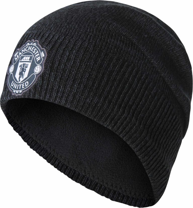 Manchester United Beanie – Night Grey/Black