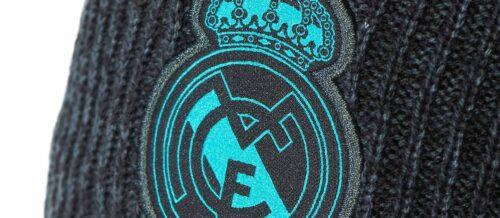 Real Madrid Beanie – Solid Grey/Black