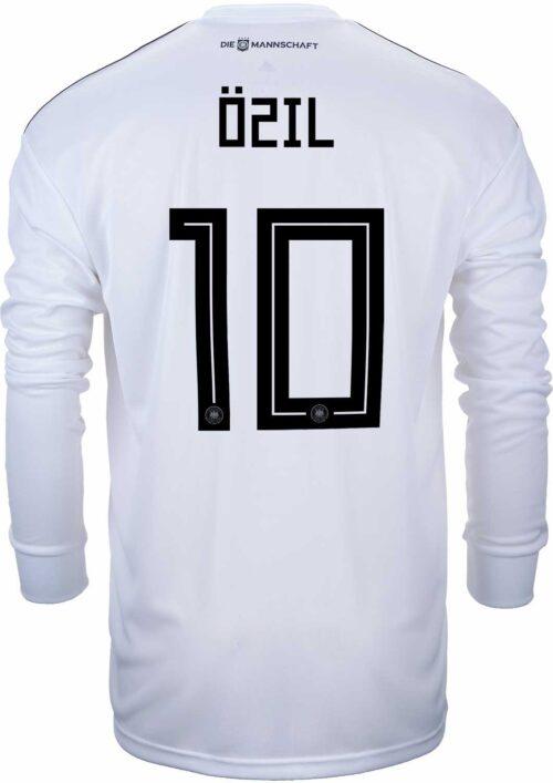 adidas Mesut Ozil Germany L/S Home Jersey 2018-19