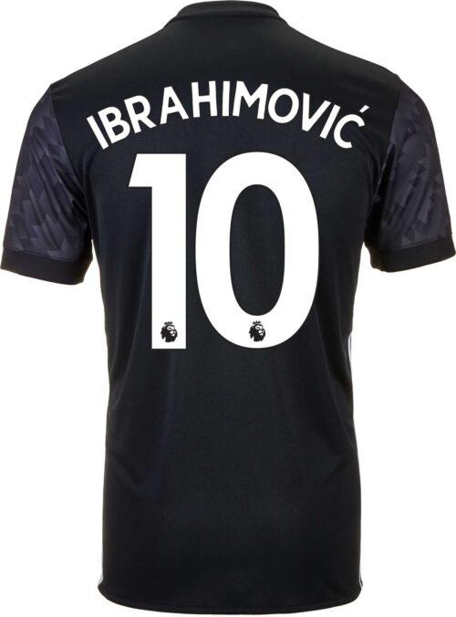 adidas Zlatan Ibrahimovic Manchester United Away Jersey 2017-18