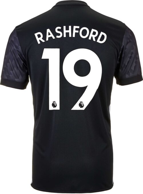 adidas Marcus Rashford Manchester United Away Jersey 2017-18