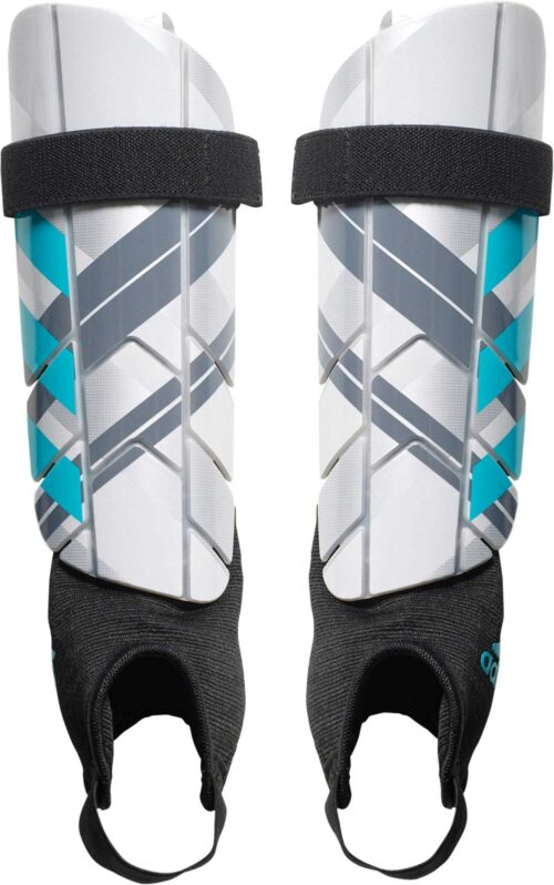 adidas Ghost Reflex Shin Guards – Silver Metallic/Clear Onix