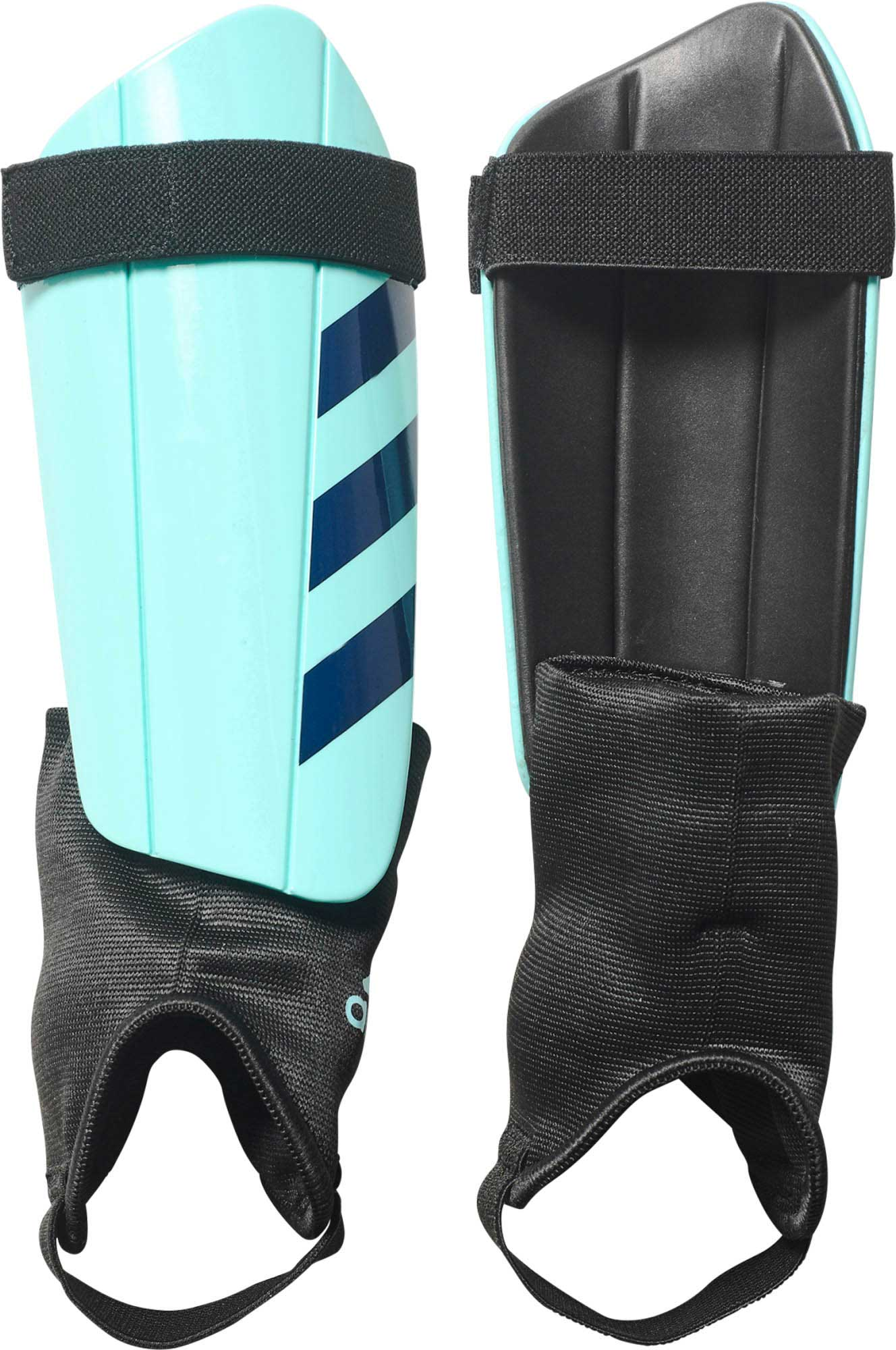 250abde01 adidas Ghost Club Shin Guards – Energy Aqua/Legend Ink