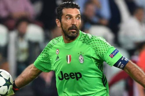 Buffon Jersey and Gear