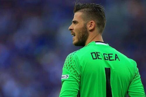 De Gea Jersey and Gear