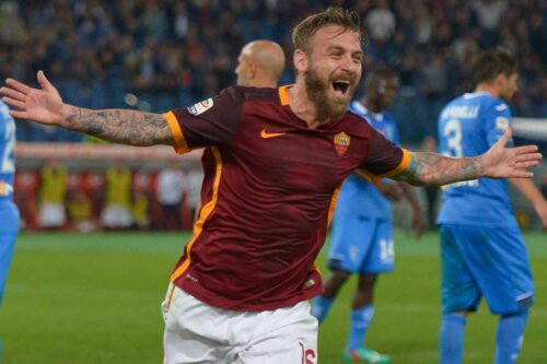 De Rossi Jersey and Gear