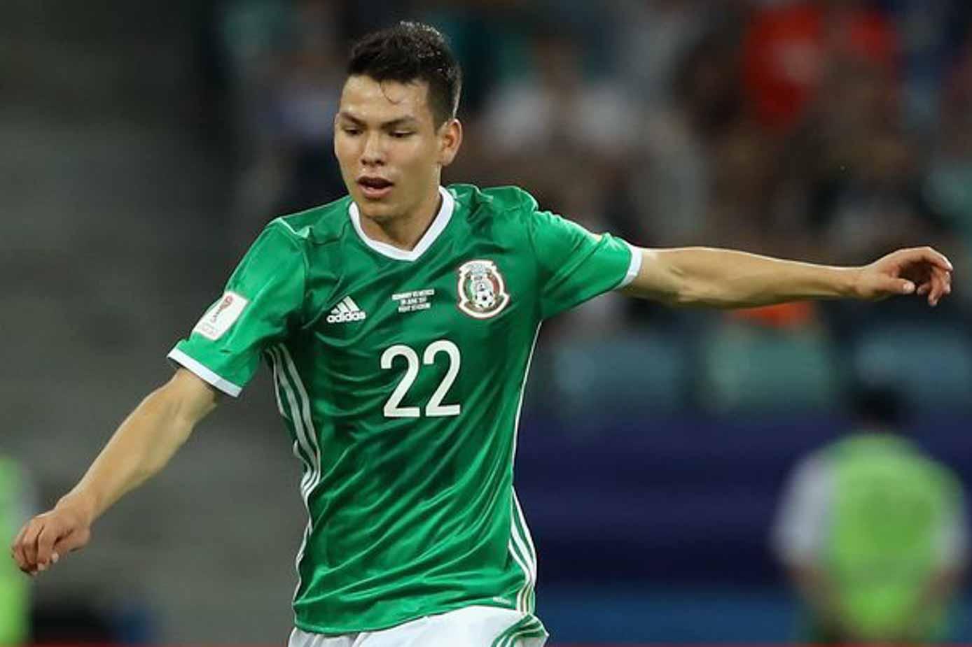 fce64bf32 Hirving Lozano Jersey - Mexico and PSV - SoccerPro.com