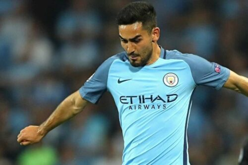 Ilkay Gundogan Jersey and Gear