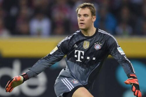 Neuer Jersey and Gear