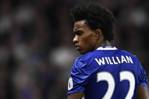 Willian Jersey and Gear