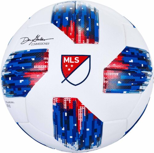 adidas MLS Match Ball – White/Ash Blue