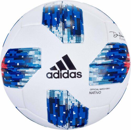 adidas MLS Match Ball – White/Ash Blue