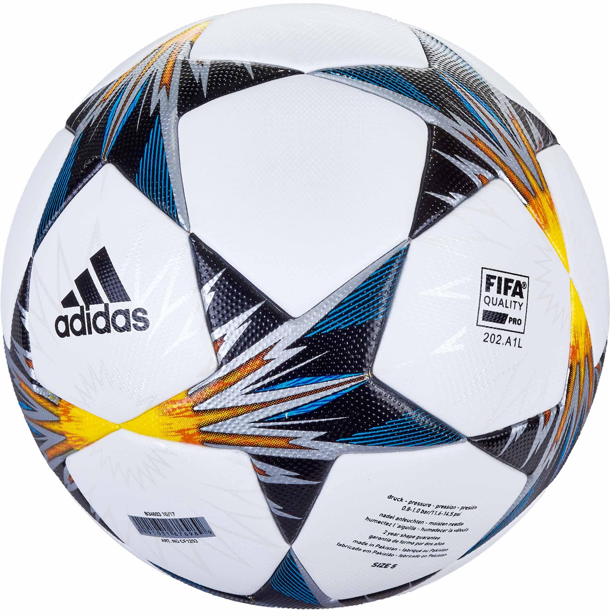 violación cristiano compañera de clases  adidas Finale 18 Kiev- UEFA Champions League Match Ball