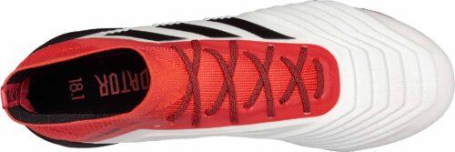 adidas Predator 18.1 FG – White/Real Coral