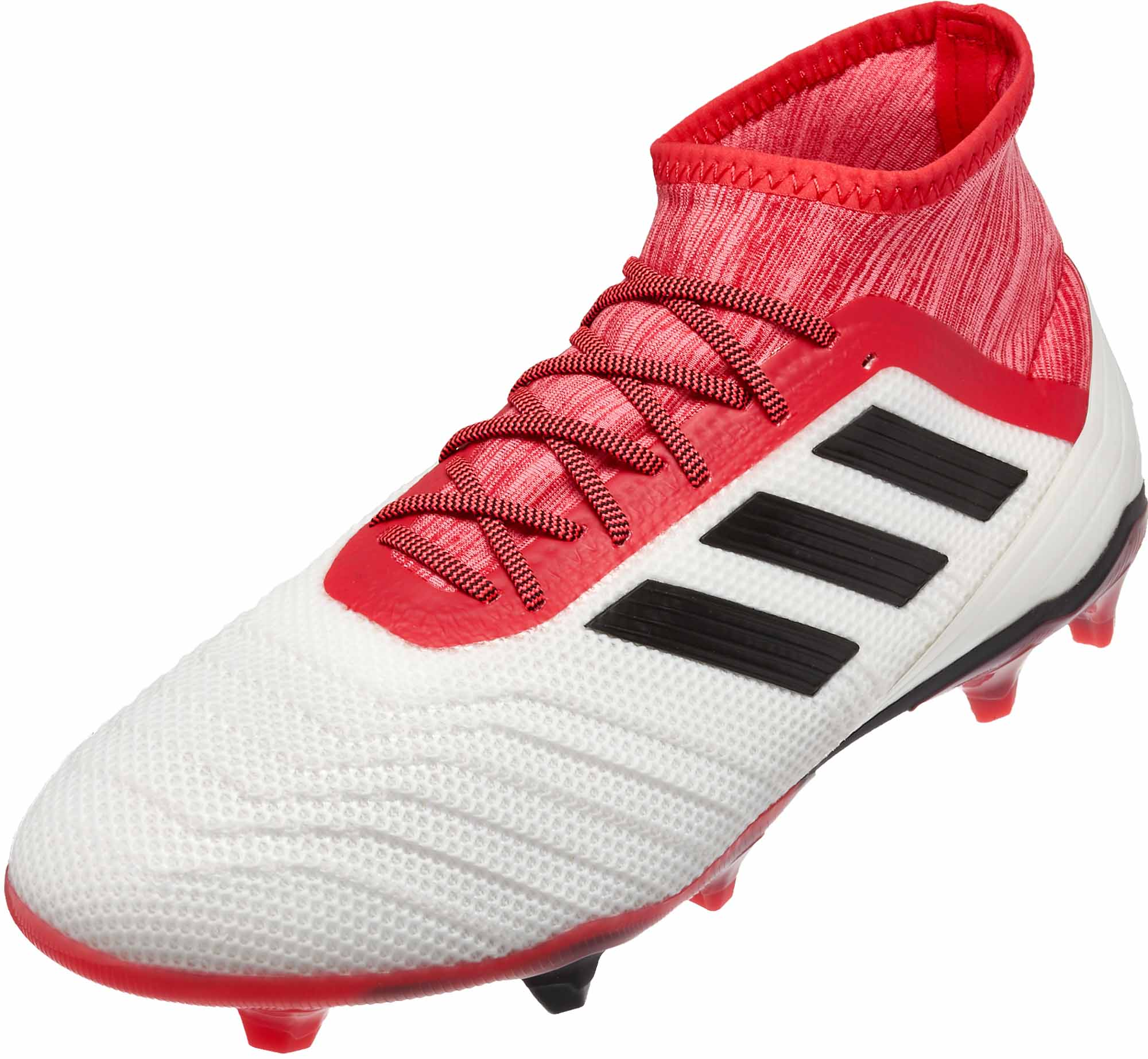 buy cheap cheapest lowest discount adidas Predator 18.2 FG – White/Real Coral