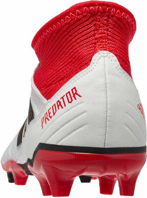 adidas Predator 18.3 FG – White/Real Coral