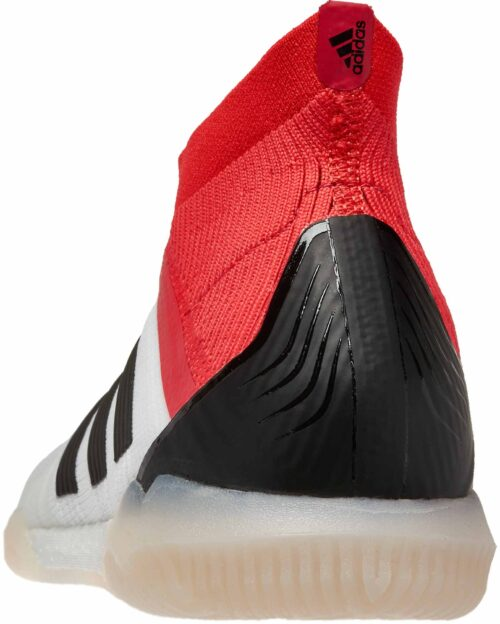 adidas Predator Tango 18  IN –  White/Real Coral
