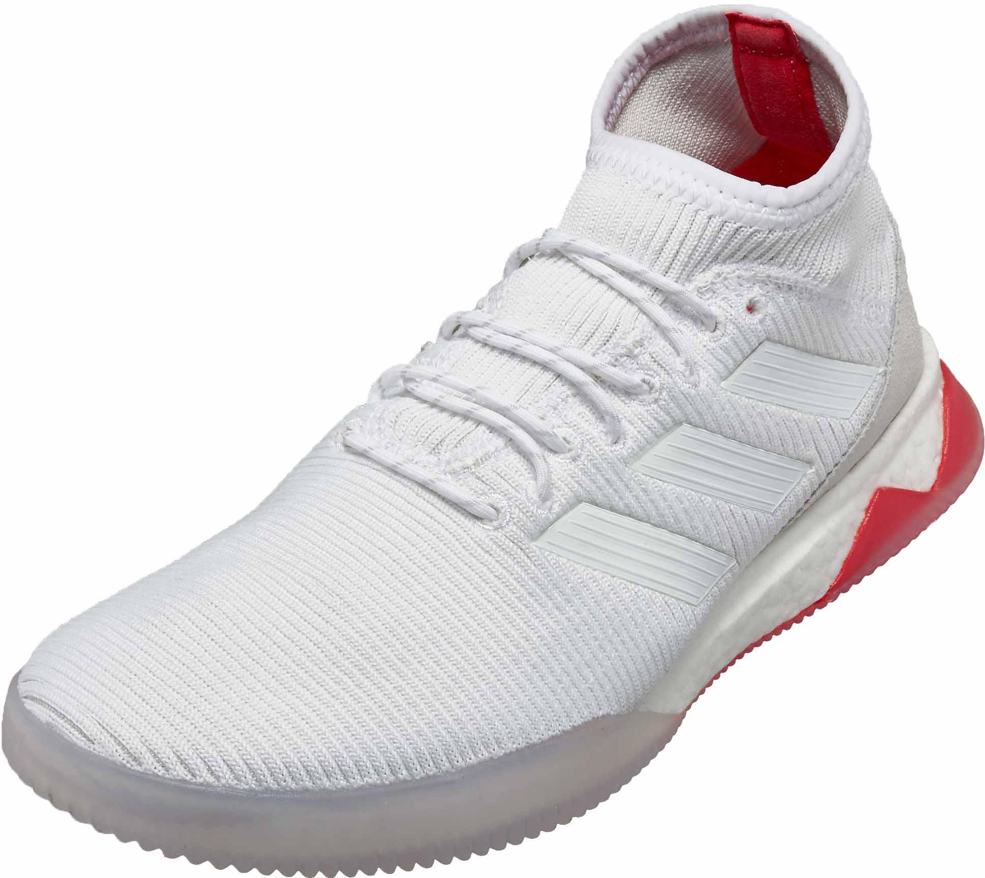 adidas Predator Tango 18.1 TR – WhiteReal Coral