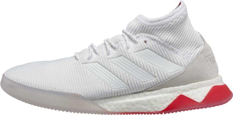 adidas Predator Tango 18.1 TR – White/Real Coral